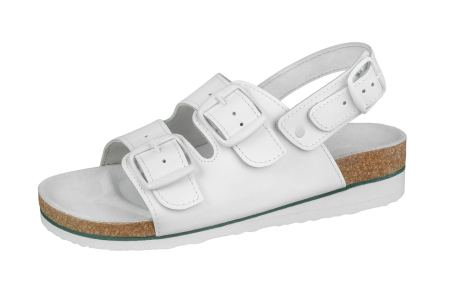 940588b2a57 Zdravotnická pracovní obuv dámská S3K Orange Zdravotní obuv dámská sandále  S3K ...