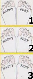 Adjustační ponožky návod