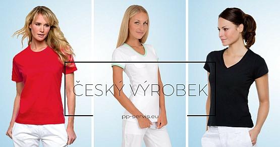 Zdravotnické oděvy: dámská trika a polokošile obr.