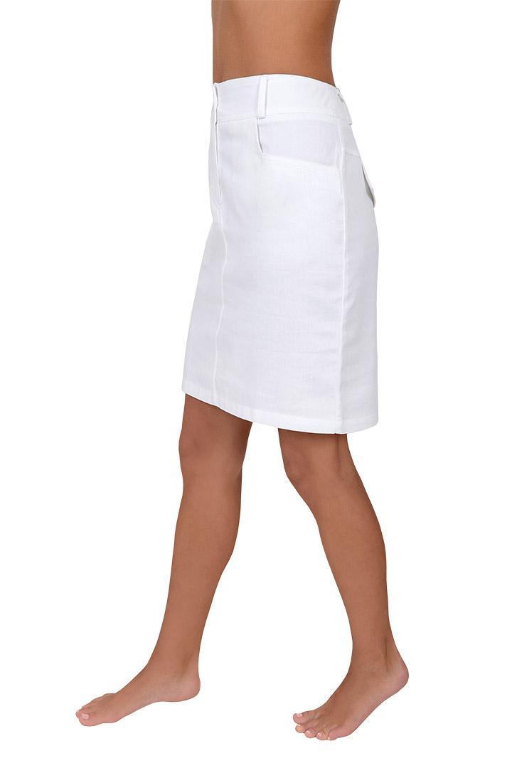 ... Dámská pracovní sukně bílá Elen ... 83708d09e4