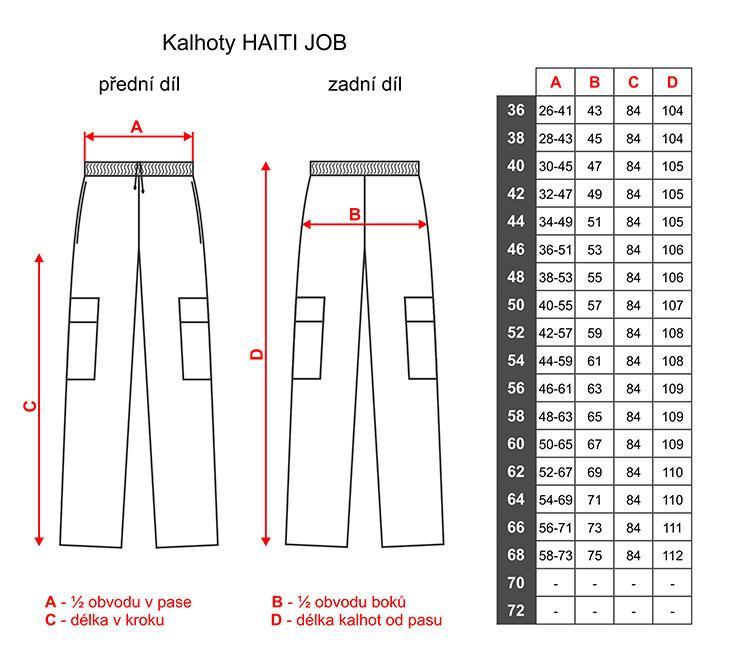 ... Dámské kalhoty pro lékaře a zdravotníky Haiti Job - bavlna ... 1c1765e8d2