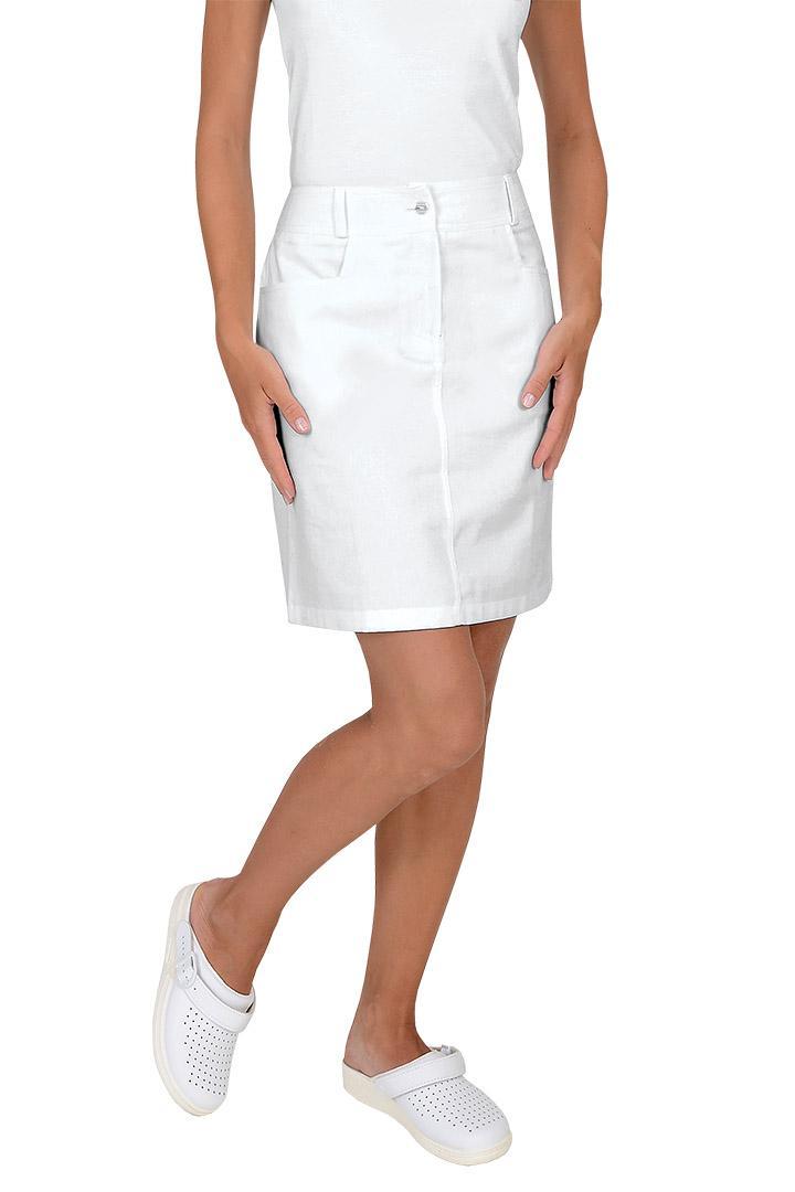 b3bf4589e63 ... Dámské krátké sukně Elen - bílá ...