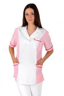 0c97b3cf1 ... Dámská pracovní halena pro sestřičky a zdravotníky Adria-1 základ bílá  100% bavlna