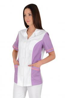 d40de421c ... Zdravotnická pracovní halena Ruby základ bílá 100% bavlna