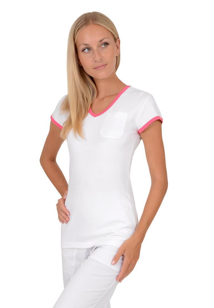 422eaaf4d1e Dámská trička Vito Duo bílá růžová - Kliknutím zobrazíte detail obrázku.