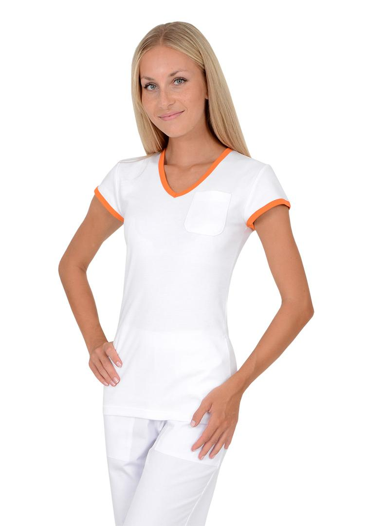 Dámská trika Vito Duo bílá oranžová - Kliknutím zobrazíte detail obrázku. f36f0a703f
