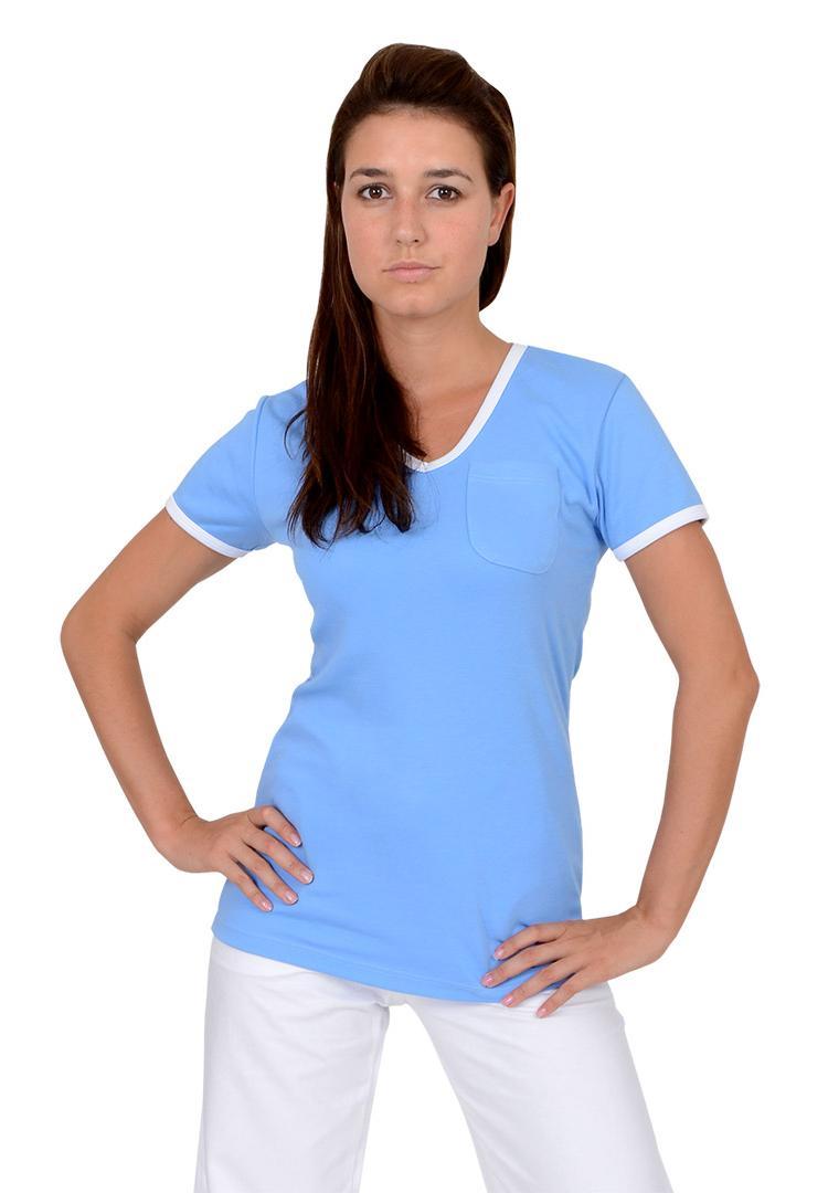 Dámská trika Vito Duo-A krátký rukáv modrá bílá - Kliknutím zobrazíte  detail obrázku 0df76e43c1