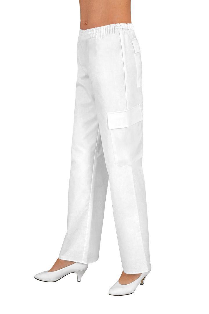 Dámské kalhoty pro lékaře a zdravotníky Haiti Job bílé 100% bavlna - Kliknutím  zobrazíte detail 8d33ac6209