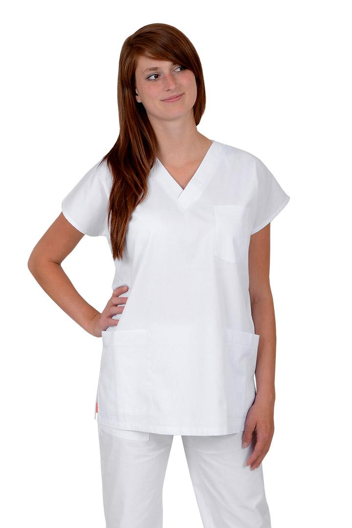2485fed7c9c Lékařské pracovní haleny Unima jednobarevná 100% bavlna - Kliknutím  zobrazíte detail obrázku.