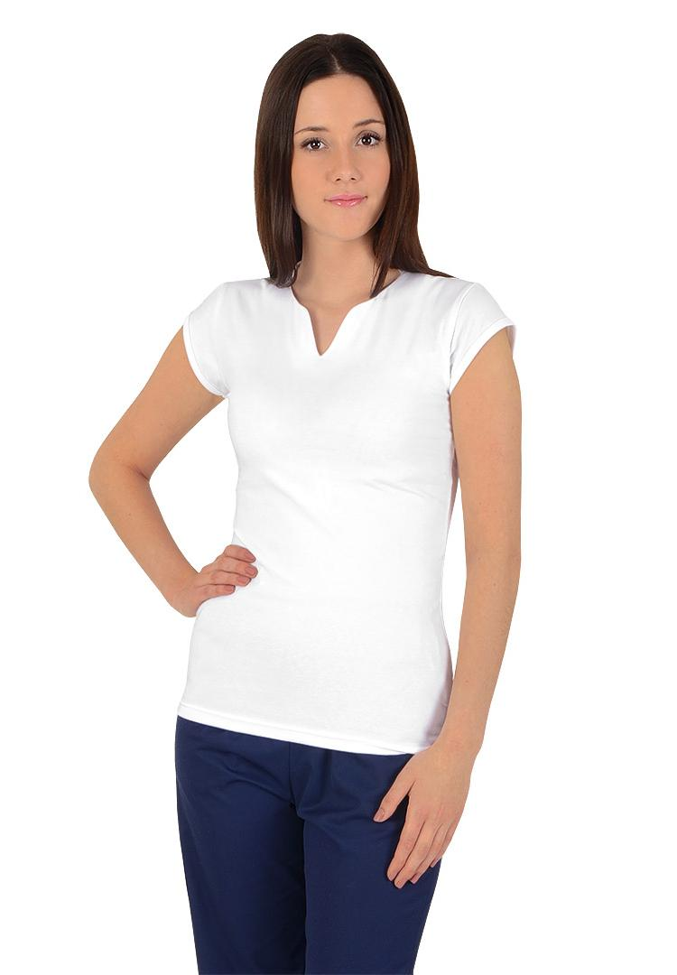 Dámská trička s krátkým rukávem Lara bílá - Kliknutím zobrazíte detail  obrázku. 00d87fb5de