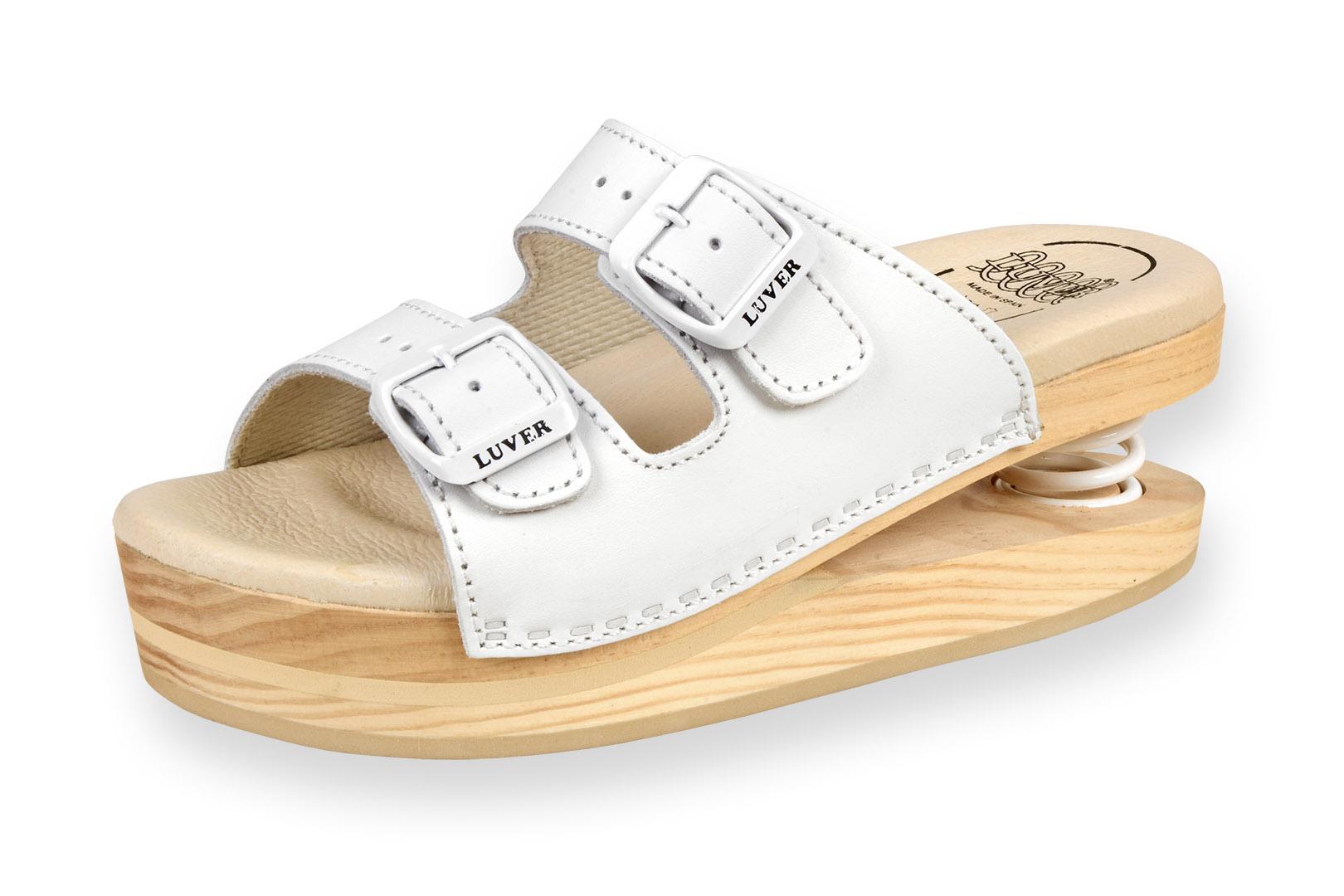 Zdravotní pantofle dámské Primavera Luver bílá - Kliknutím zobrazíte detail  obrázku. 2e3dadabaa