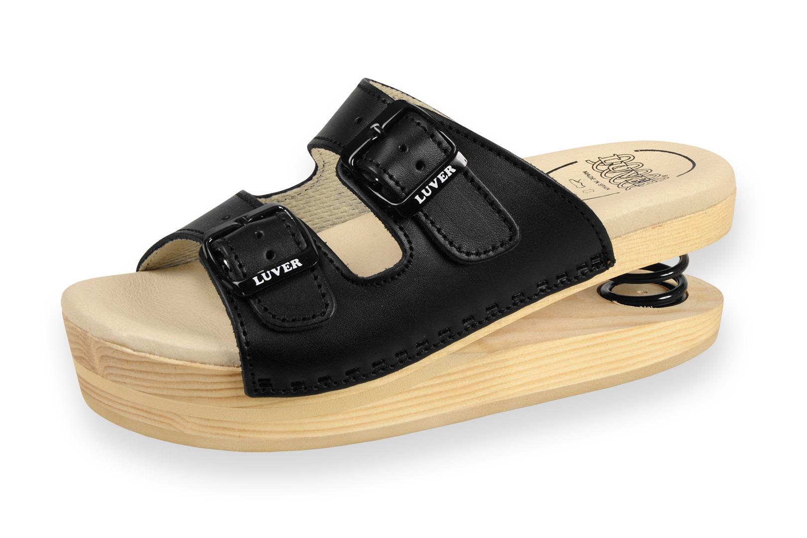 Zdravotní pantofle dámské Primavera Luver černá - Kliknutím zobrazíte  detail obrázku. 4a295b48a8