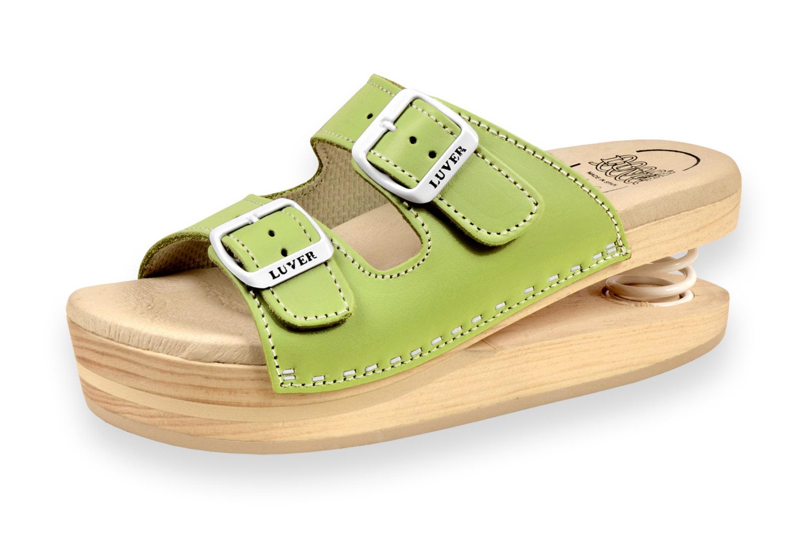 Zdravotní pantofle dámské Primavera Luver zelená - Kliknutím zobrazíte  detail obrázku. 259838b4b9